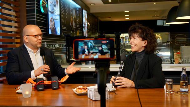 Premiere: Espresso-Talk im McCafé lässt Start-ups zu Wort kommen