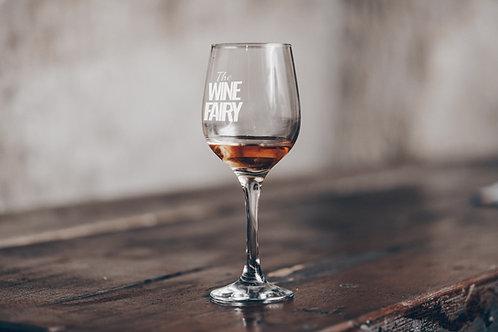 Fairy wine glass