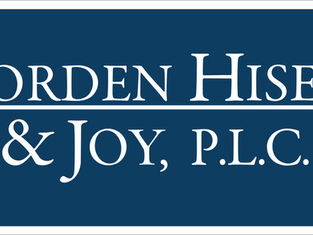 Jorden Hiser & Joy, PLC Named to the 2020 Edition of Best Law Firms