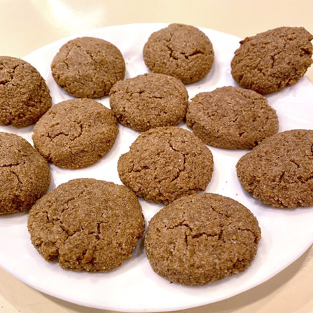Ginger Cookies in a Snap!