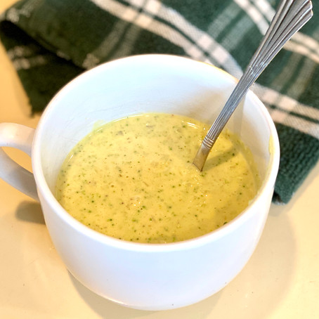Primarily Plants Broccoli Cheese Soup