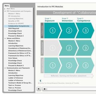 IPE Online E-Learning Modules