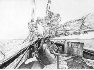 Bow of a Tall Ship
