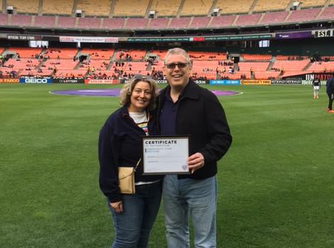 DC United Bright Star Award for 2017