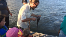 Friday Night Fishing at Diamond Teague Park with Anacostia Riverkeeper