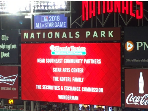 Nationals Park Events-2013-2017!