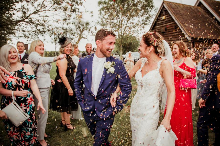 The Barn Bierton Wedding