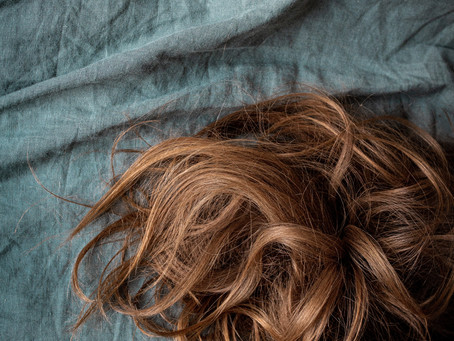 Rotstich im Haar