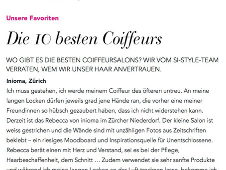 inioma in der SI Style Top 10