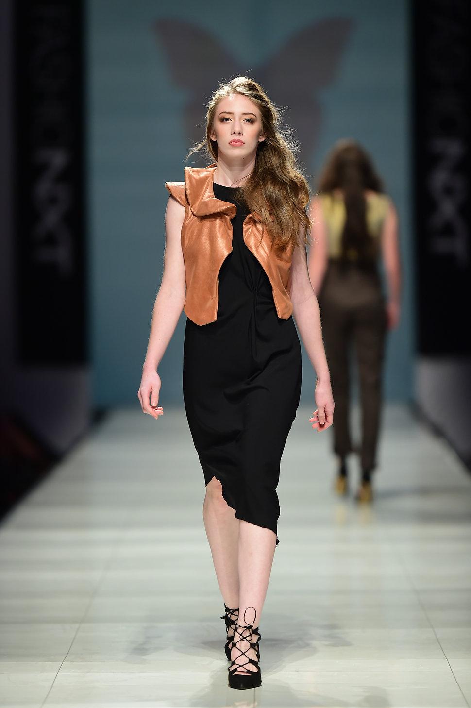 Isabella Cinnamon Bolero leather jacket