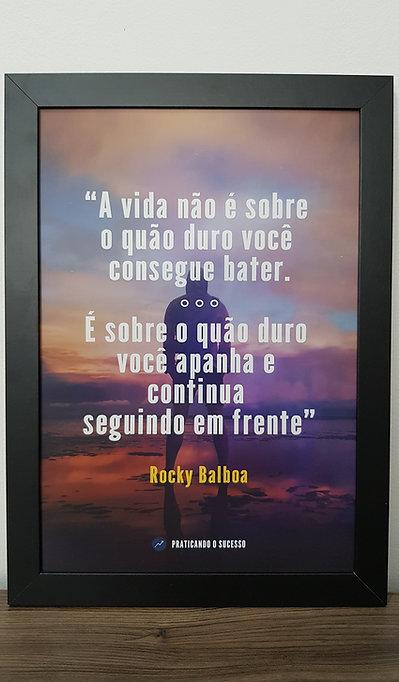Quadro Rocky Balboa