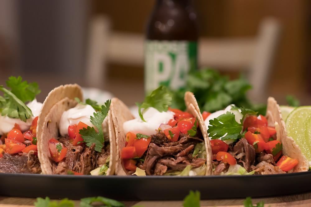 Kosher Pulled Beef Barbacoa Tacos