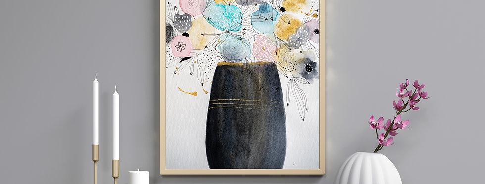 Spring Fling - Watercolour