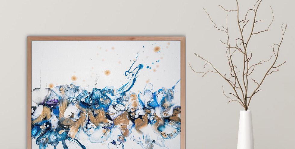 Copper Shot - Acrylic Paint Pour