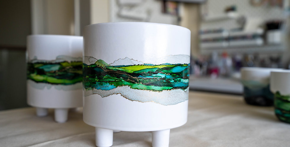 Ceramic Planter Pot - Middle Sea 1
