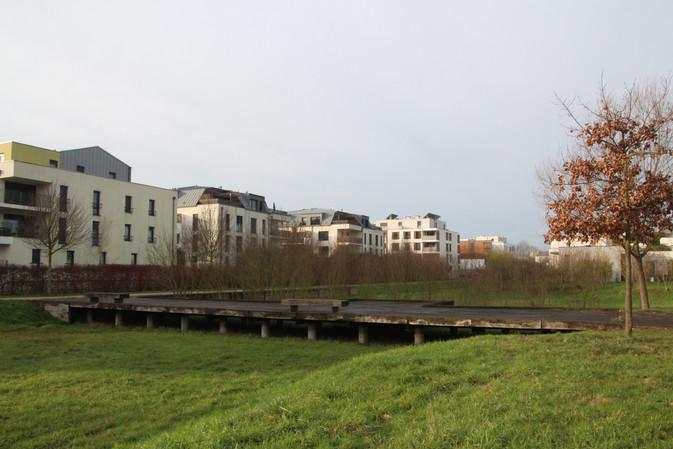 Bassin, noue Sainte-Anne