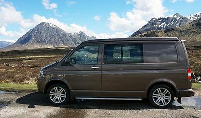 Kelpie Campers | VW Camper Van Hire | Scotland | UK