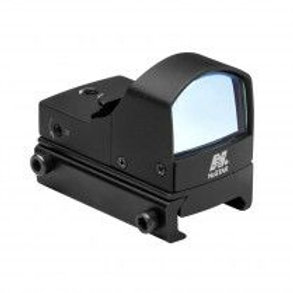 COMPACT TACTICAL BLUE DOT REFLEX SIGHT/WEAVER BASE/BLACK