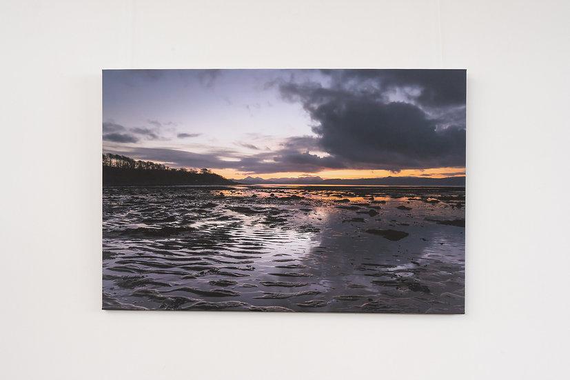 Reflection on Applecross Bay Canvas