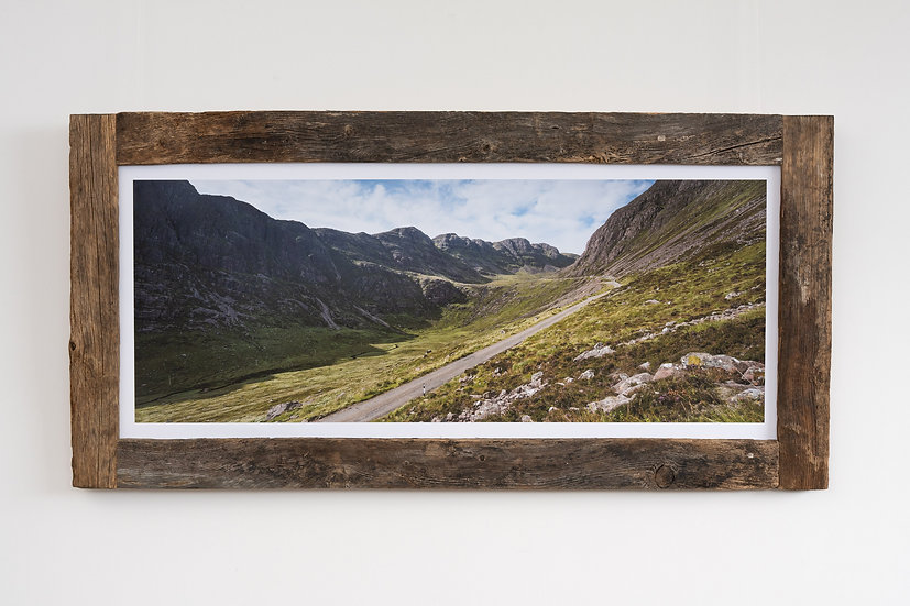 Bealach na Ba in September Larch Post Frame