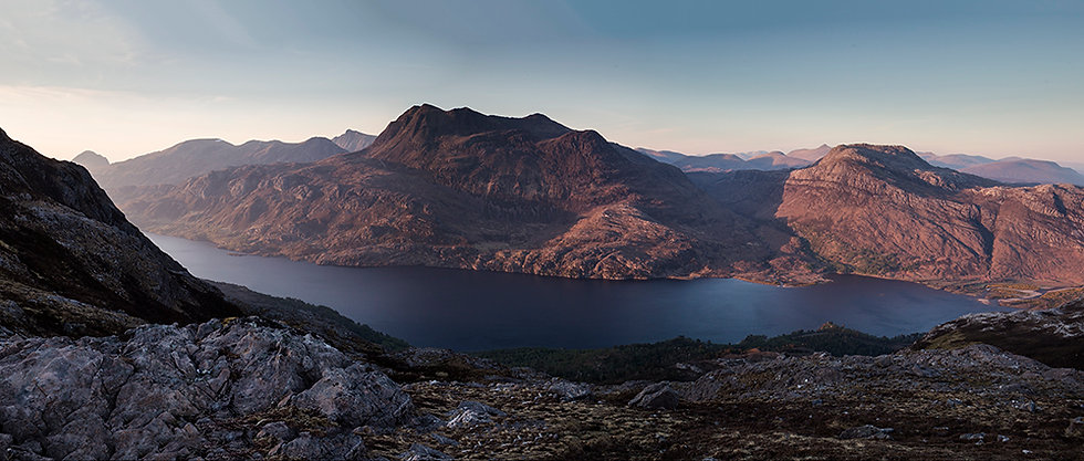Slioch May Sunset Signed Print