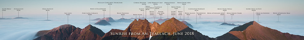 An Teallach Named Signed Print