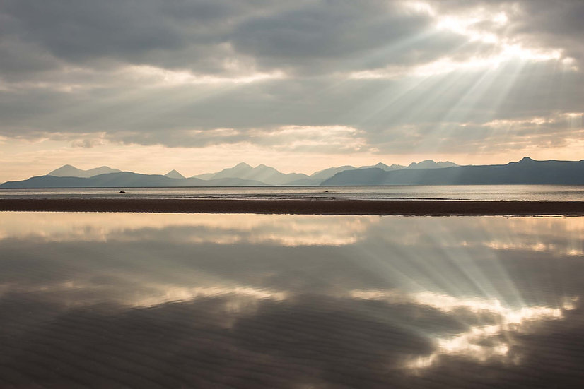 Sand Reflection Signed Print