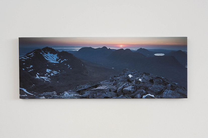 Liathach May Sunset Canvas