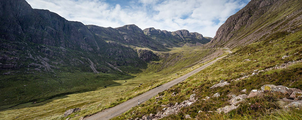 Bealach na Ba in September Signed Print