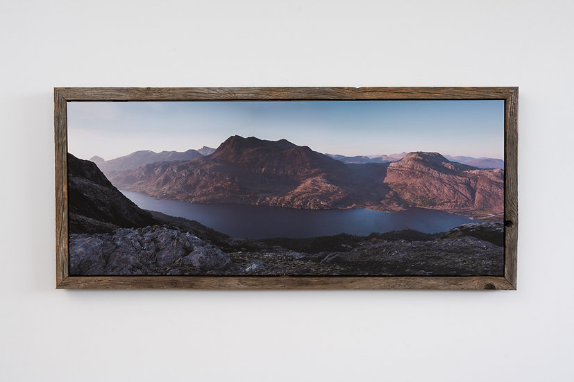 Slioch May Sunset Floating Post Frame