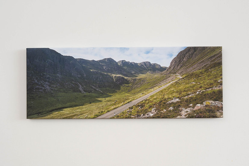 Bealach na Ba in September Canvas