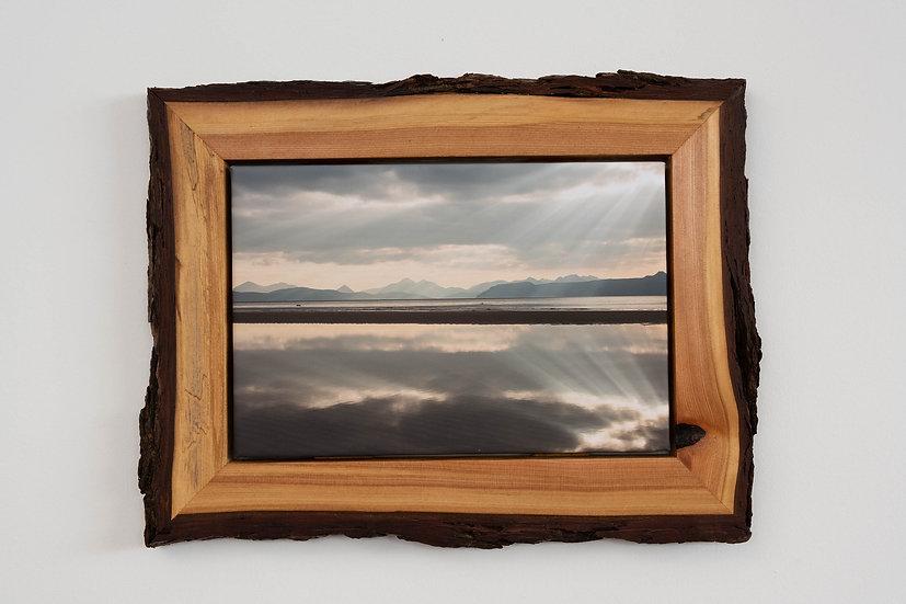 Sand Reflection Waney Edged Frame