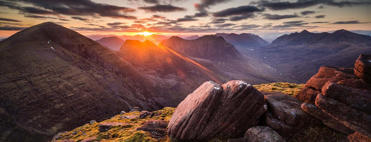 Sunrise on Beinn Alligin