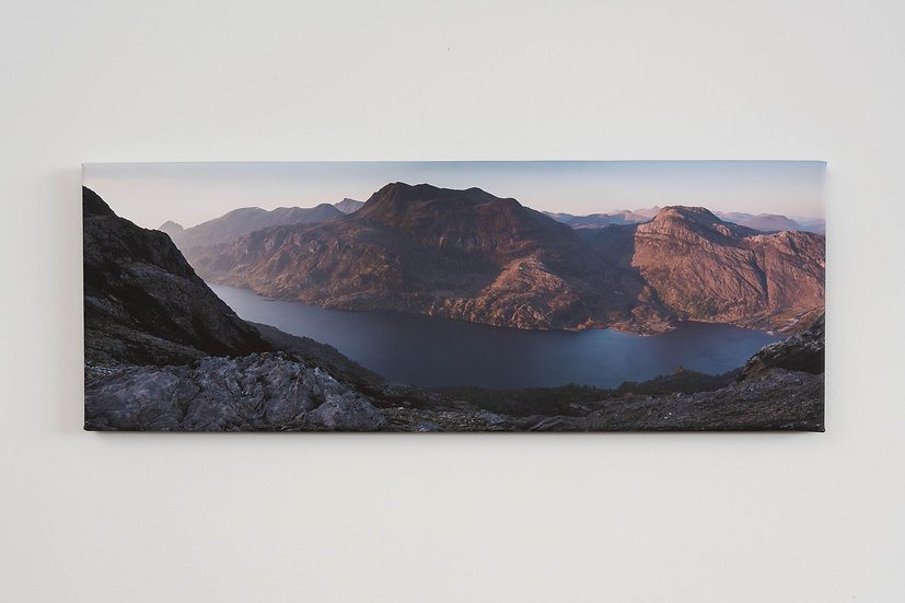 Slioch May Sunset Canvas