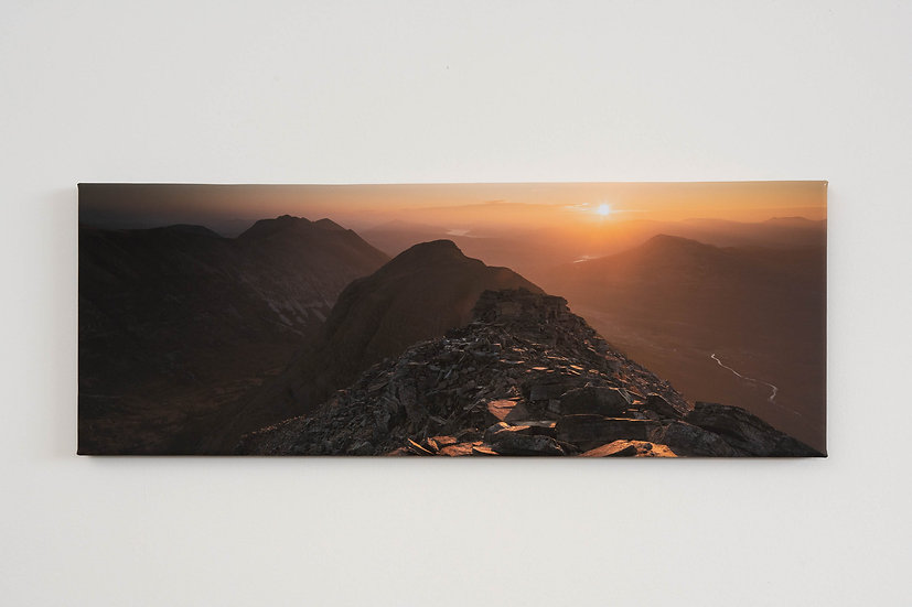 Liathach October Sunrise Canvas