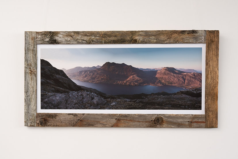 Slioch May Sunset Larch Post Frame