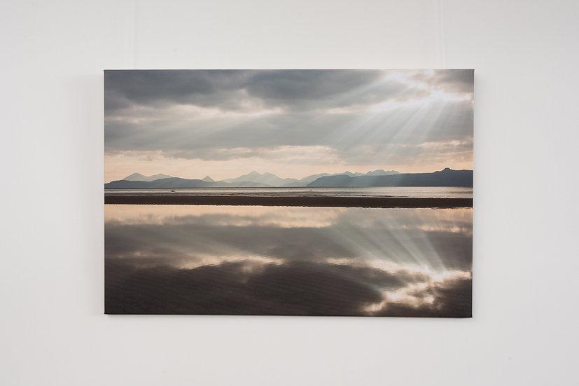 Sand Reflection Canvas