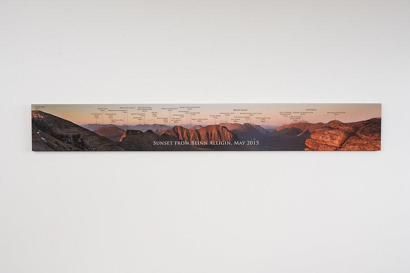 Beinn Alligin Named Canvas