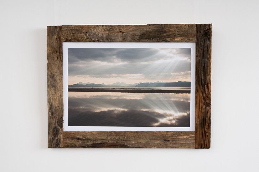 Sand Reflection Larch Post Frame