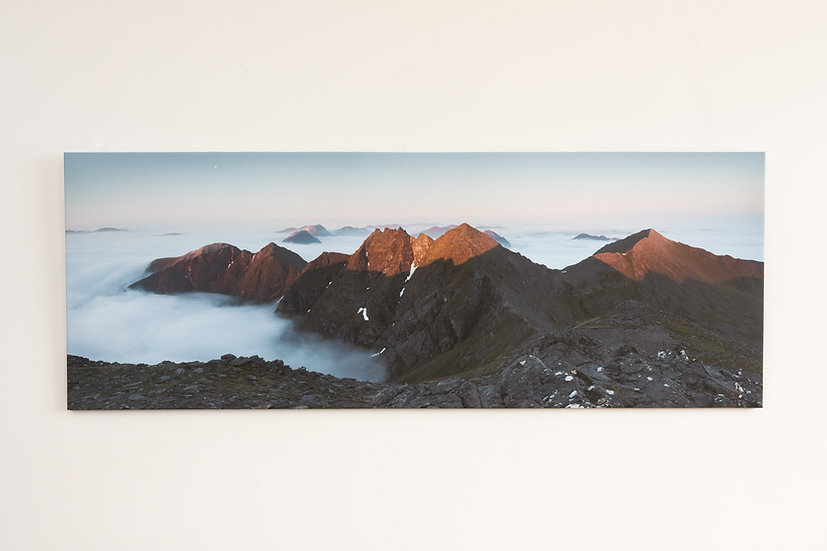Sunrise on An Teallach Canvas