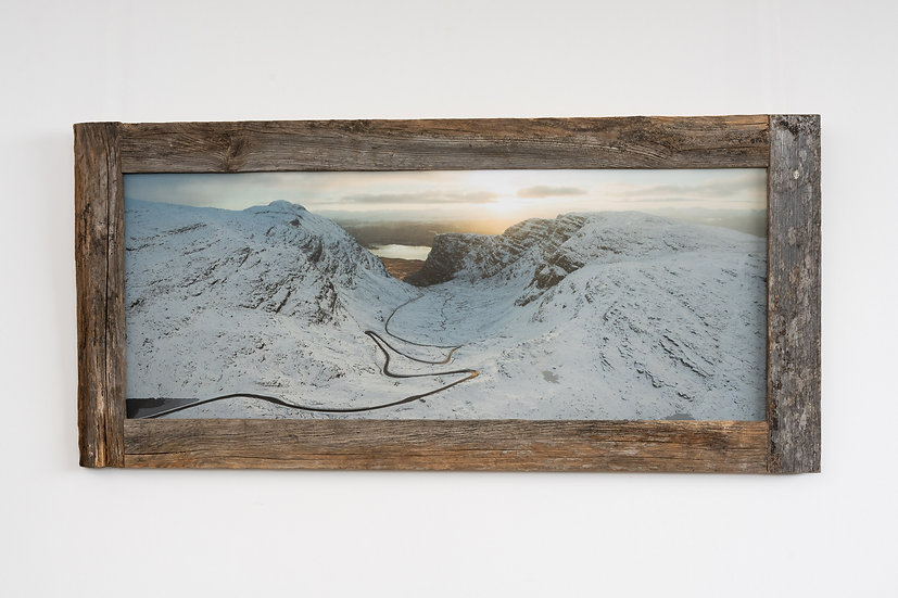 Bealach na Ba in November Larch Post Frame