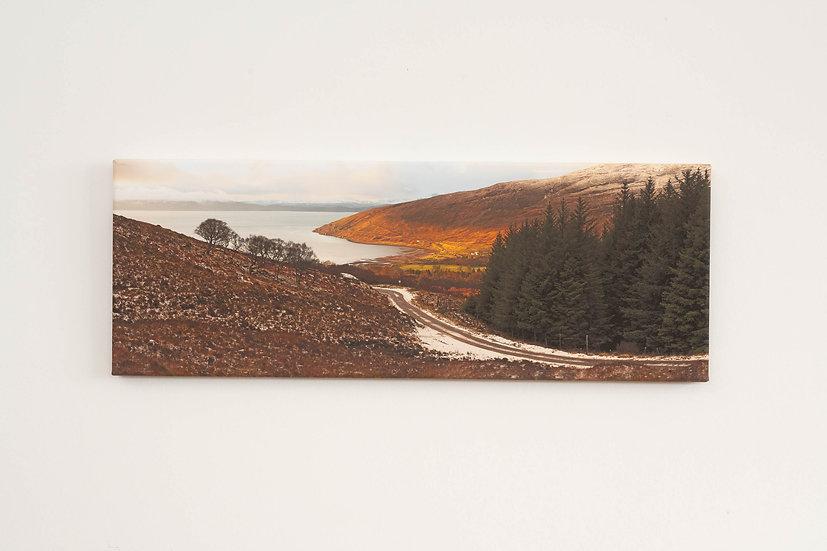 Applecross Bay from the Bealach Canvas