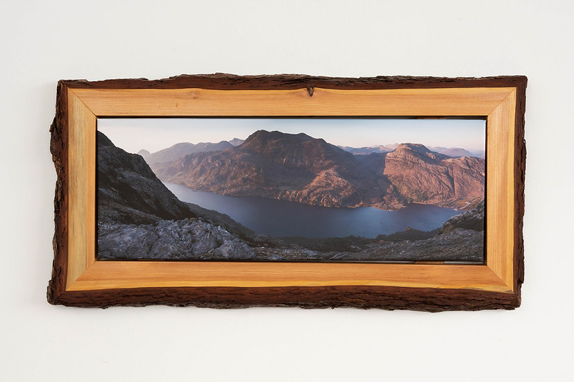 Slioch May Sunset Waney Edged Frame