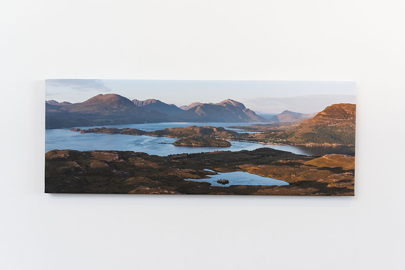 Shieldaig Sunset Canvas
