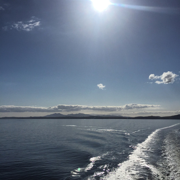 Sailing the Firth of Clyde