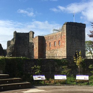 13th Century Rothesay Castle