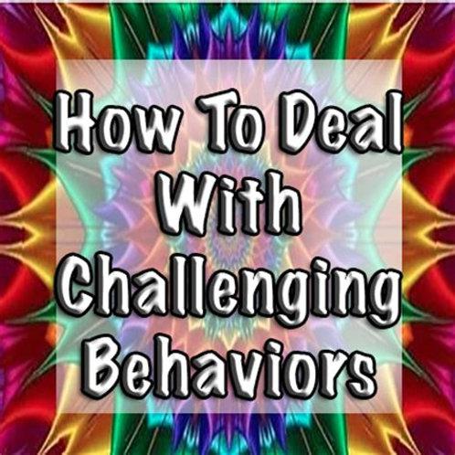 Challenging Behaviors