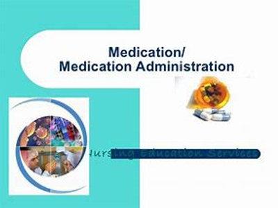 CBRF Medication Administration: Course