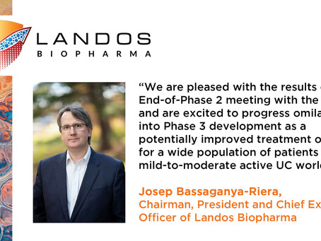 Landos Biopharma Announces Positive Outcome of End-of-Phase 2 Meeting with the FDA for Omilancor