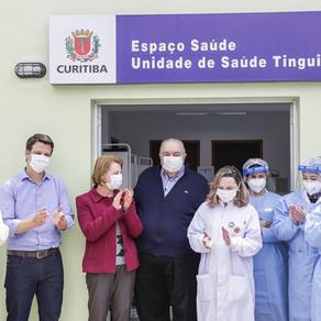 Renovadas, unidades de saúde Moradias Belém e Tingui voltam a atender comunidade